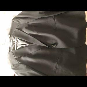 Jones Studio Woman's Black Blazer Sz 16W